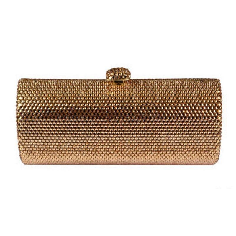 XIYUAN BRAND Luxury evening bags Crystal women party purse Ladies wedding bridal formal clutch bags banquet Day Clutch wallet