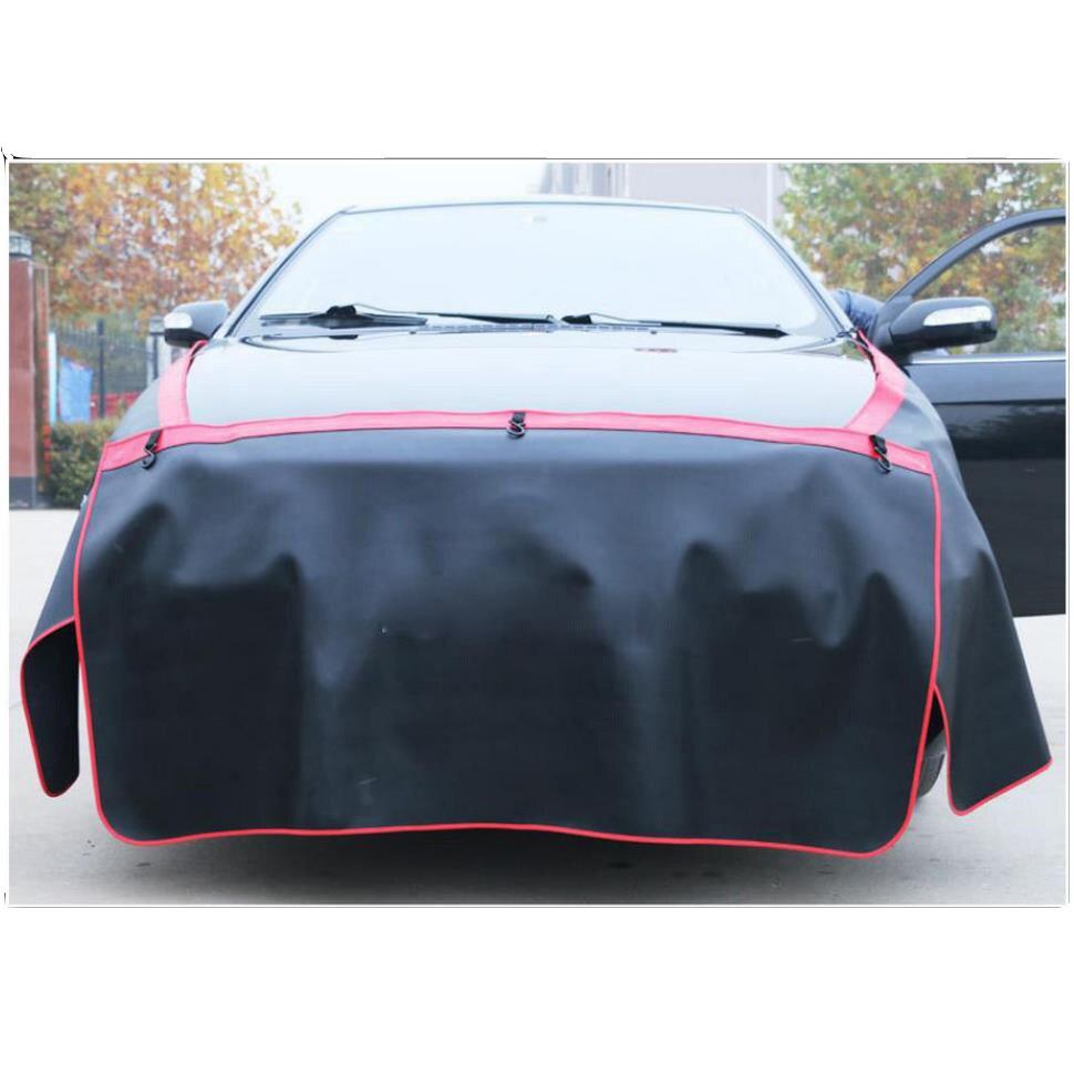 Chiziyo 3 pçs preto pára-choque carro cobre proteger pintura magnética asa capa fender capô pintura ferramenta de reparo automóvel