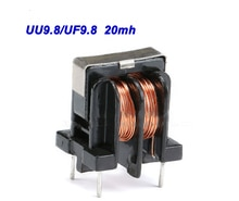 Inducteurs à modes communs   Filtre ondulé 20mh, UU9.8/UF9.8, inducteur 20MH Pitch 7*8mm diamètre du fil 0.2m, livraison gratuite