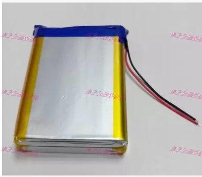 10000 mah 대용량 3.7 v 폴리머 리튬 배터리 모바일 전원 충전 보물 코어 126093 충전식 리튬 이온 셀 recharg