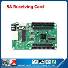 Envío Gratis Tarjeta receptora 5A i5a 256*256 píxeles pantalla led video tarjeta de control sychronous sistema de control de pantalla led receptor