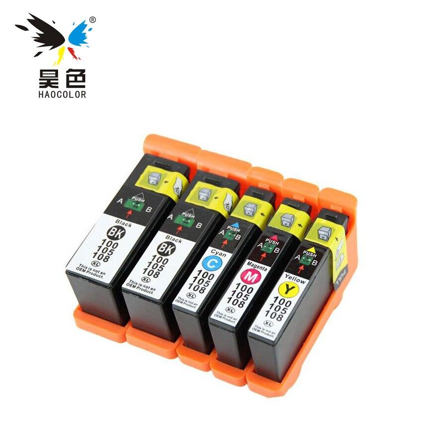 5 uds LM100 LM105 LM108 XL cartucho de tinta para PRO205/209/705/707/709/805/901/905/208/708/808/908