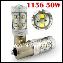 1156 led 50W White 1156 1157 P13W CREE chip led High Power Fog Light Driving Headlight DRL very bright car led light