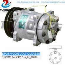Compresseur automatique 7H15 709   Pour VOLVO VI MAN, pelle de camion 51779707014 1071995 132mm A2 24V