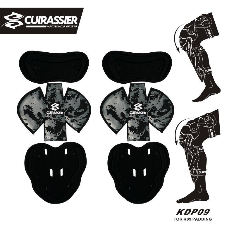 Cuirassier KDP09 Motorcycle Knee pads padding Motos Knee Guard Motocross Racing Protective Gear MX Protector Guards Kit 5 Colors