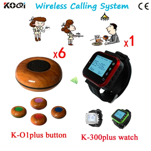 Paging System 1 Watch +6 Button