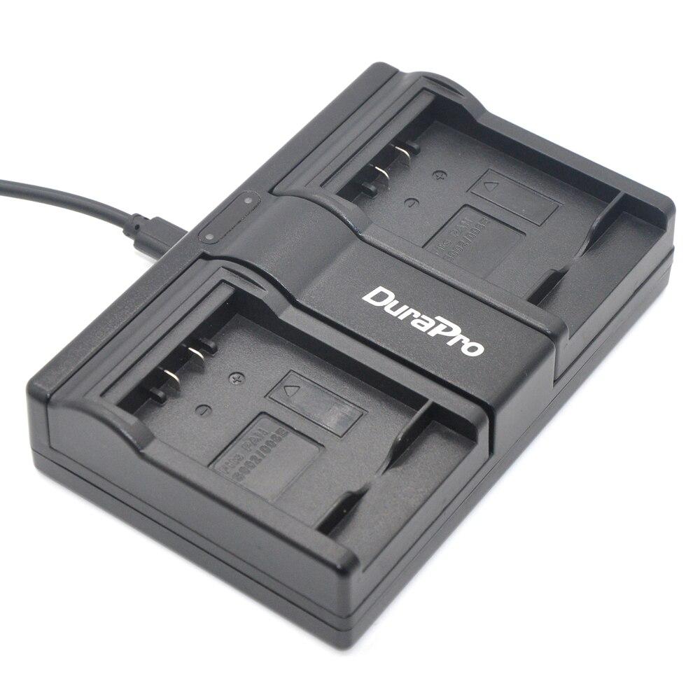 DuraPro CGA-S006 CGA S006 S006E DMW-BMA7 DMW BMA7 USB двойное зарядное устройство для Panasonic DMC FZ7 FZ8 FZ18 FZ28 FZ30 FZ35 FZ38 FZ50