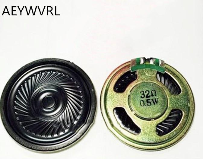 Juguete de voz, altavoz pequeño 32R 0,5 W, diámetro interior 36mm 32, zumbador magnético ultradelgado de Europa