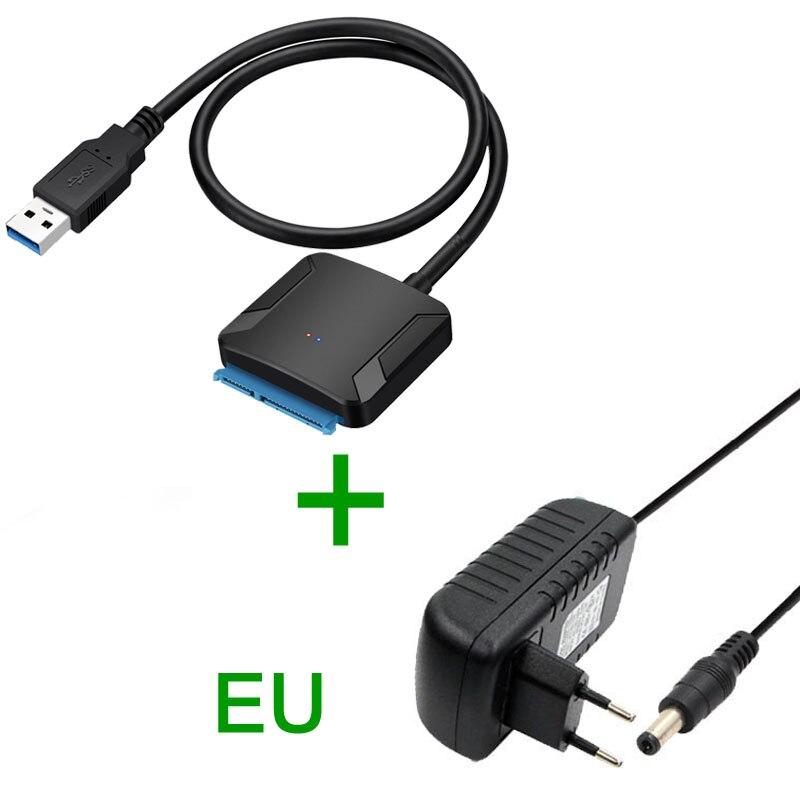 Convertidor de Cable adaptador SATA USB3.0 22 pines USB 3,0 un Cable...