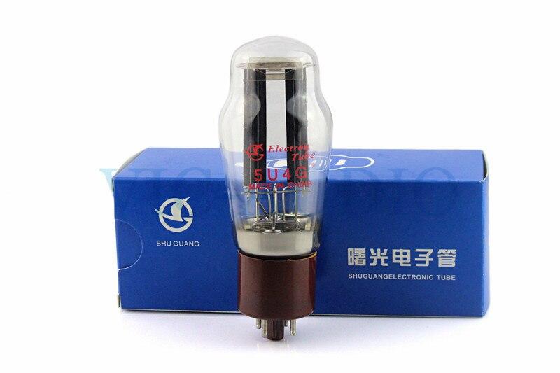 1 штука новая Shuguang трубка 5U4 5U4G вакуумная трубка замена 274B 5Z3P выпрямитель электронная трубка Бесплатная доставка
