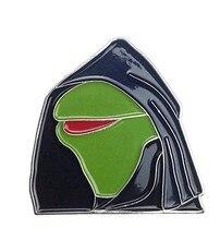 Mal Kermit mème émail broche Kermit chapeau épingle bouton Flair
