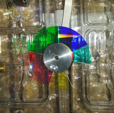 جهاز عرض احتياطي ، عجلة ألوان 102418847 46 مللي متر ، 6 ألوان لجهاز عرض BENQ EH8058 TH682ST وغيرها