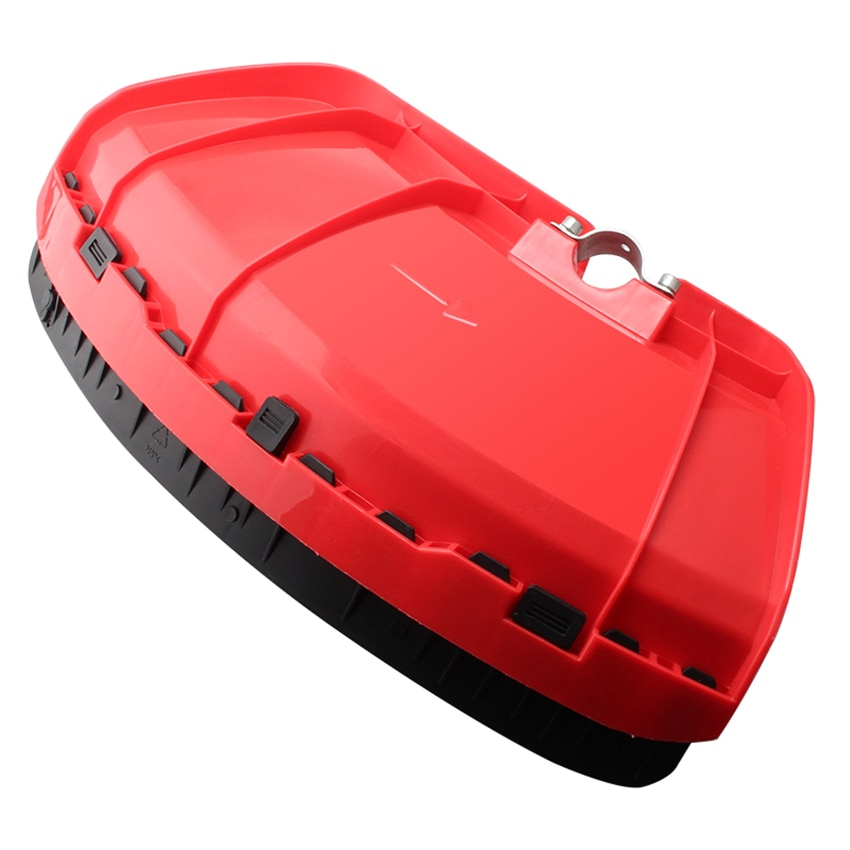 Épaissir tondeuse Protection déflecteur herbe tondeuse herbe bloc conseil accessoires désherbeur Machine couverture tondeuse garde haute qualité