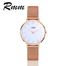 2018 RMM New Casual Fashion Ladies Watch Men and Women Lovers Watches High Quality Classic round dia