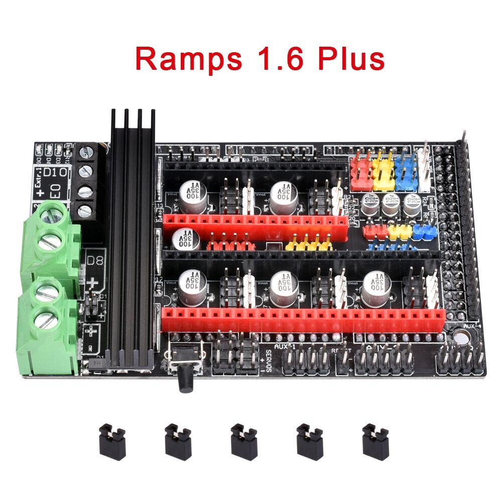 Ramps 1.6 Plus Upgrade Ramps 1.6 1.5 1.4 Control Board Support A4988 DRV8825 TMC2208 TMC2130 Driver 4-layer 3D Printer Parts