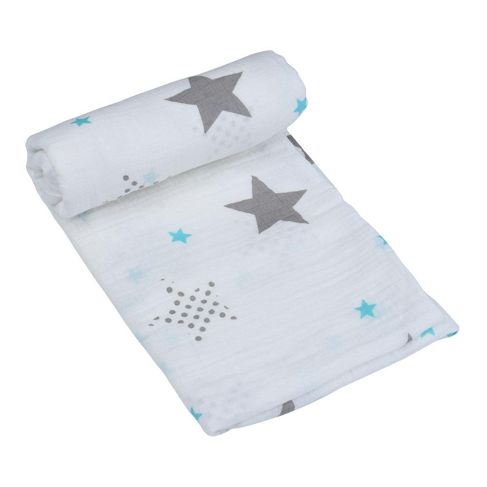Bolsa esmerilada de una pieza, manta de muselina ed para bebé, manta envolvente para recién nacido, 100% de algodón para bebé 120x120CM, funda para saco de dormir para cochecito