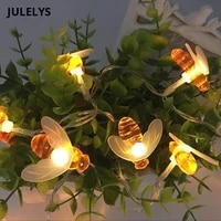 30m 300 bulbs fairy lights led decorative string lights christmas garland decorations for garden home party wedding holiday
