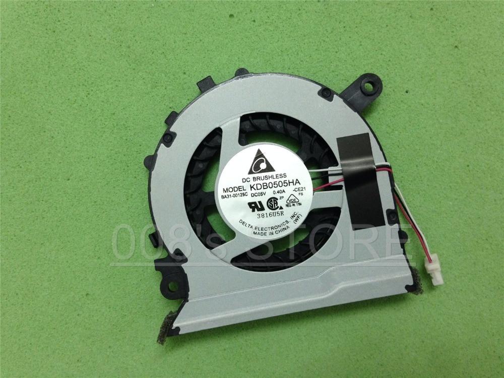 Neue Laptop CPU Kühler Lüfter Für SAMSUNG NP 530U3C 532U3C 530U3B 535U3C 540U3C NP535U3C KDB0505HA CE21 DC 5V 0.40A BA31-00125C