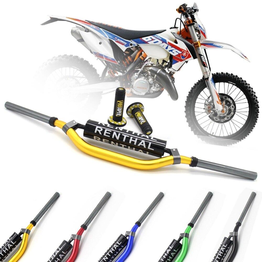 "Metal Mulisha Pack Fat Bar 1-1/8""Handlebar pads with Handle Grips Dirt Pit Bike Motocross Motorcycle CRF KLX KTM EXC YZF250 RMZ"