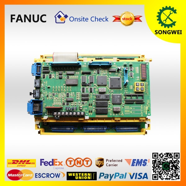 A06B-6064-H302 FANUC spindle AC amplificador driver er Controle CNC