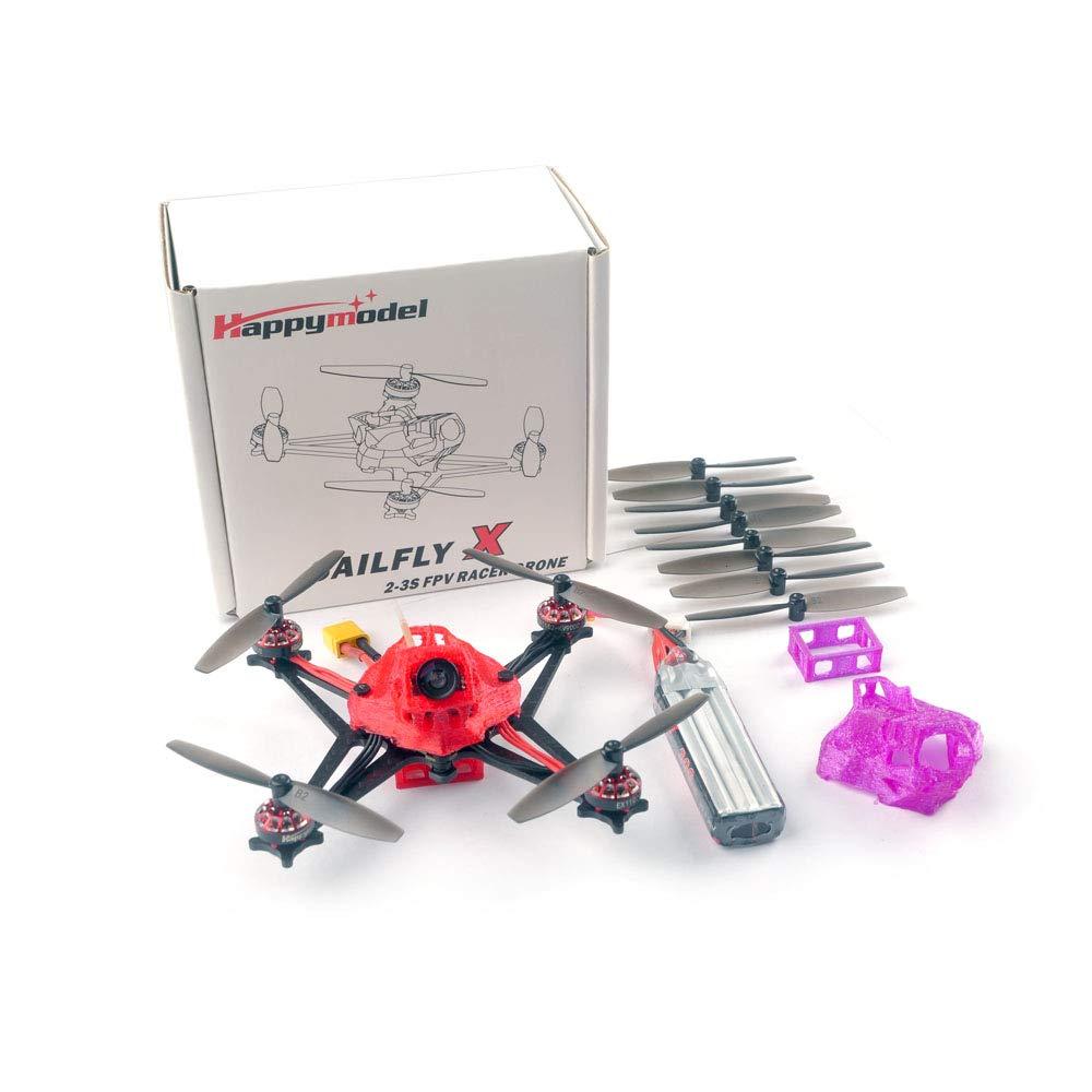 Happymodel Sailfly-X 105mm Crazybee F4 PRO V2.1 controlador de vuelo AIO 2-3S Micro FPV carreras Dron PNP BNF 25mW VTX 700TVL Cámara