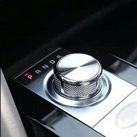 gear knob shift head knob cover sticker for discovery sport range rover vogue evoque parts car interiror accessories