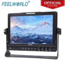 Feelworld FW1018SPV1 10,1 zoll Feld Monitor mit Histogramm IPS 3G-SDI HDMI Fotografie Studio Kamera Top Externen Monitor