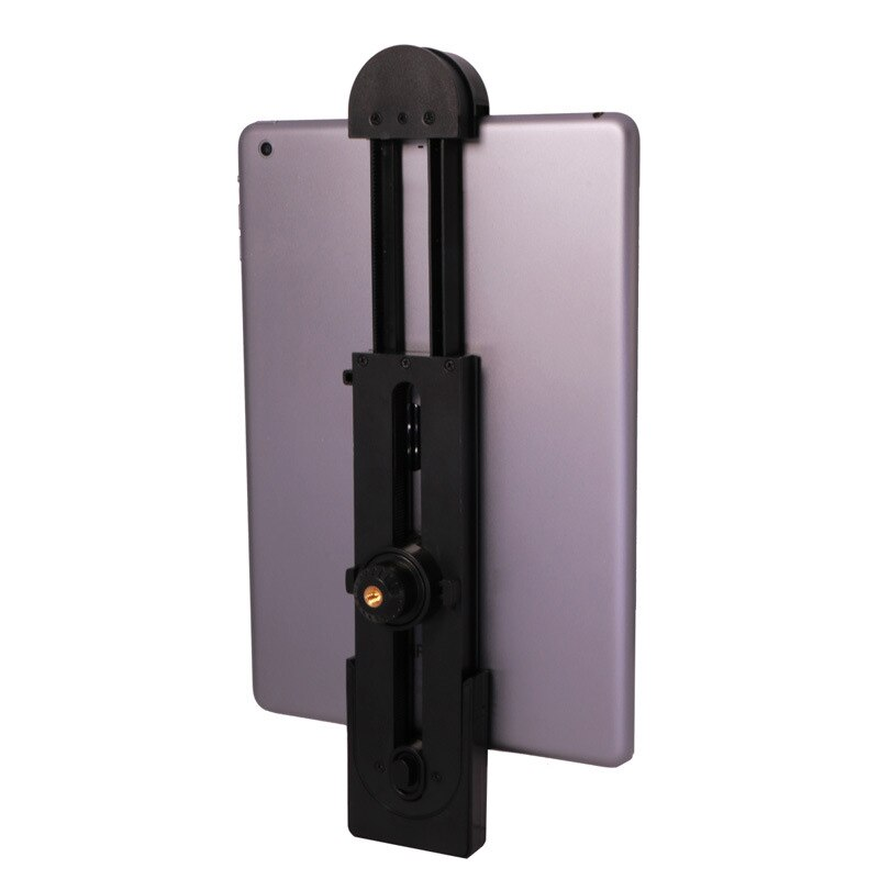 Soporte para teléfono tableta PC adaptador de montaje para trípode Flexible soporte de abrazadera ajustable para iPad Mini Air Pro EM88