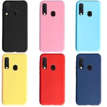 Candy Farbe Fall Für Samsung Galaxy A20e A20 e s Stoßstange Coque Abdeckung Für Samsung Galaxy A20e Weichen Silikon Telefon fall Schutz