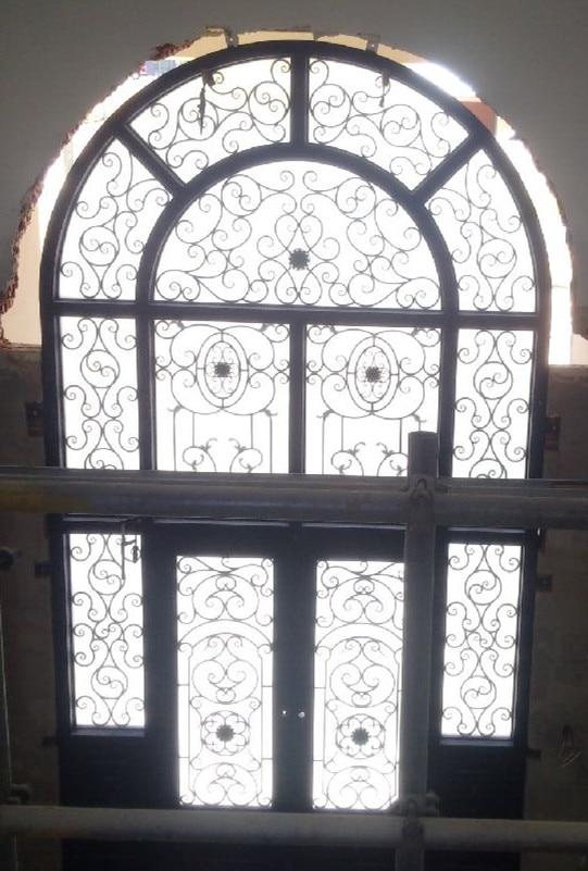 Hench 100% steel iron doors  model hc-id139