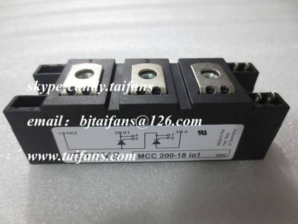IGBT módulo original novo MCC200-16IO1 MCC200-18IO1 MCC200-12IO1 MCC200-14IO1