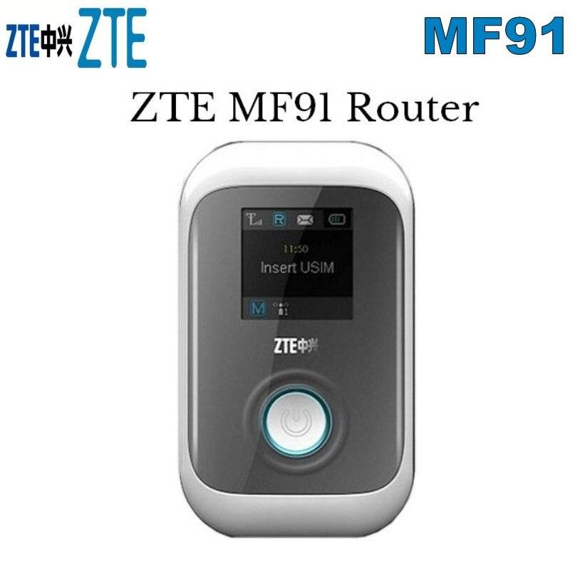فتح ZTE MF91 4G FDD-LTE واي فاي راوتر مودم HSPA + WCDMA حافة GSM المحمول
