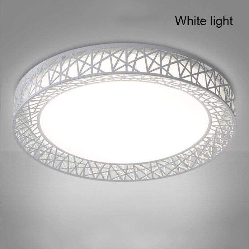 Nueva lámpara LED redonda para Nido de Pájaros, luz de techo de baja potencia de alta transmisión para sala de estar, dormitorio, cocina, luz moderna