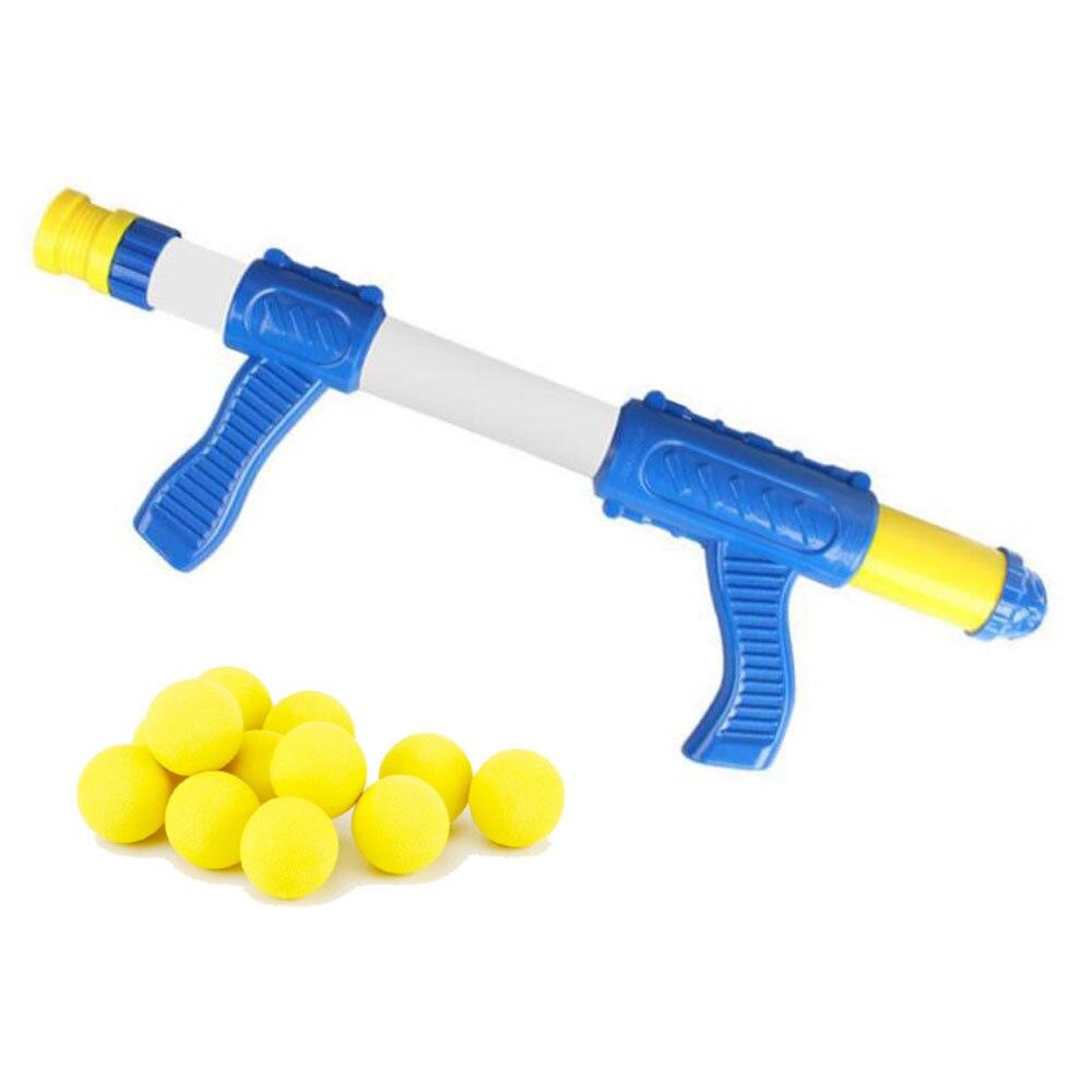 Pistola de tiro interactiva para niños al aire libre, pistola aerodinámica de aire de bala suave de EVA, juego de disparos de Interior para niños