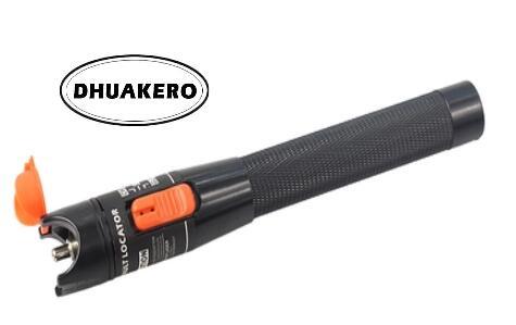 Frete grátis ab17b ftth fibra óptica laser vermelho localizador visual de falhas 10mw 10km caneta