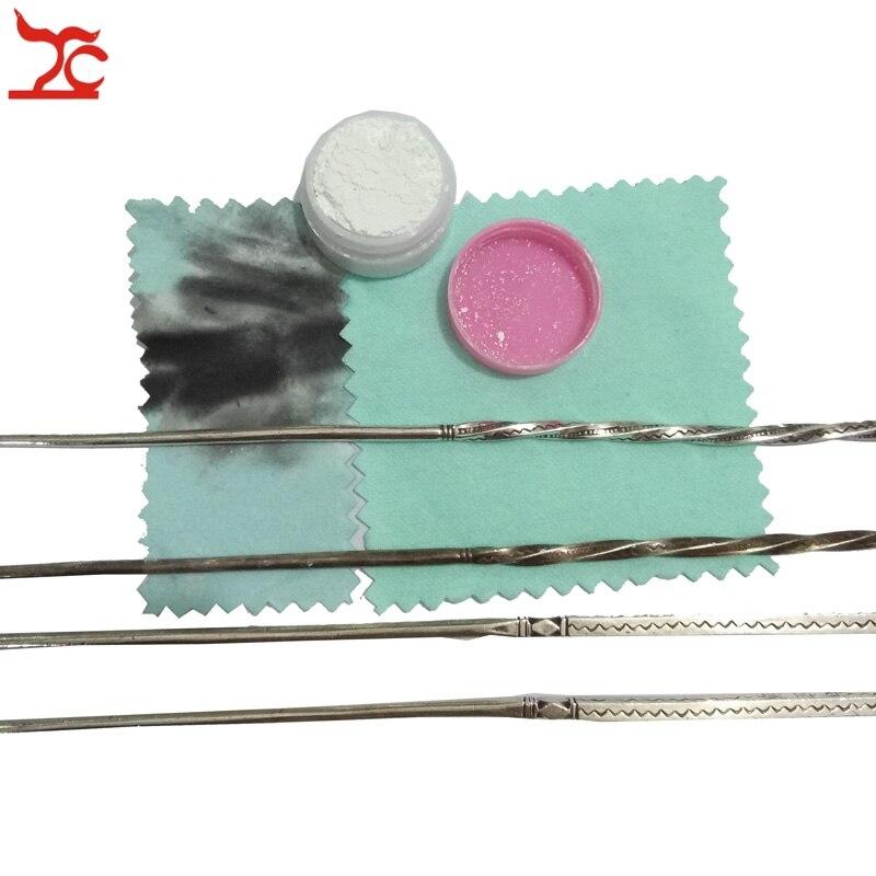 Vente au détail de haute qualité bijoux en argent or Anti-ternissement équipement de nettoyage ensorcelage poudre bijoux nettoyant poudre