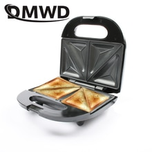 DMWD multifonction électrique oeufs Sandwich Machine Mini pain Grill gaufre crêpe grille-pain crêpe cuisson petit déjeuner Machine EU plug