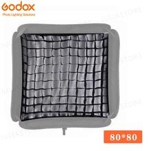 """Портативный софтбокс Godox 80x80 см, 32 """"x 32"""" для фотостудии, осветительный светильник (только сетка)"""