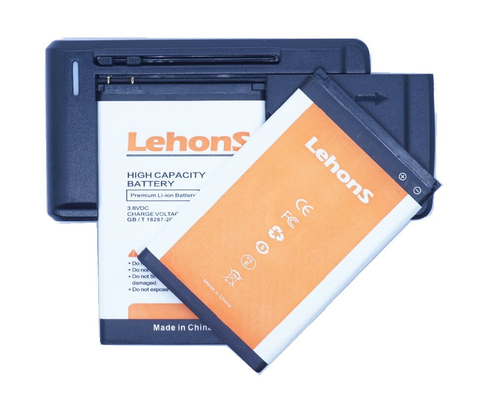 2x Brand New LENNY4 LehonS 4 Bateria Do Telefone Móvel Para WIKO Lenny 3913 Lenny4 LENNY 4 + Carregador Universal
