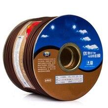 OFC cuivre 2-Core fil ligne pour bricolage Mic XLR 6.35 interconnexion mélangeur fil Audio câble Microphone ligne câble 1M