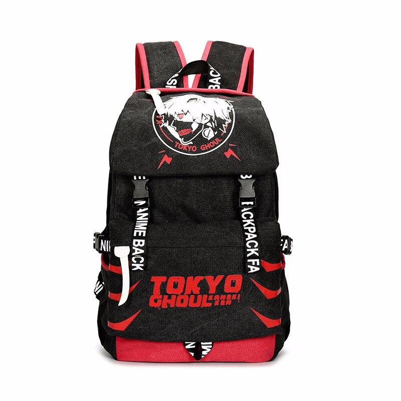 طوكيو الغول-حقيبة ظهر قماشية للطلاب ، حقيبة مدرسية كرتونية ، كاجوال ، سفر ، هدايا للجنسين ، مجموعة جديدة