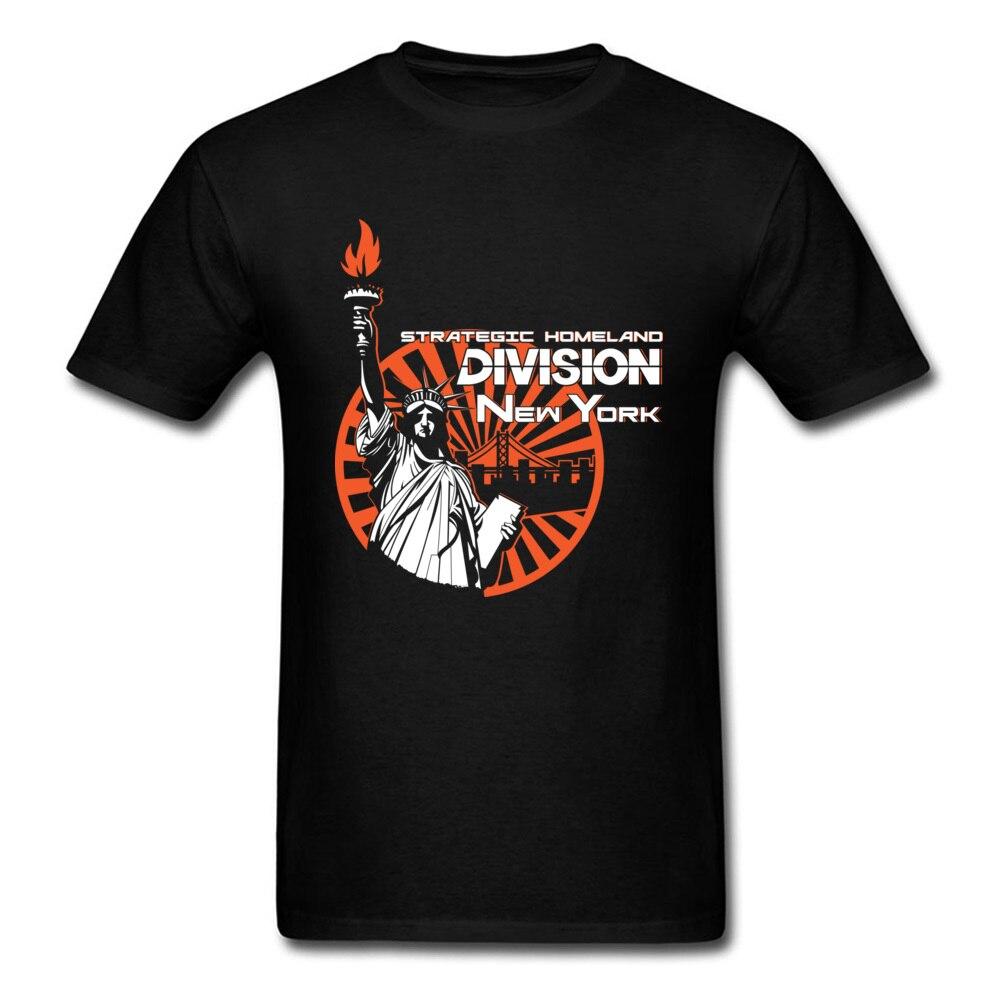 Camisetas para hombre de estilo New York 2020, grupo estratégico personalizadas de camisetas de algodón, camiseta de manga corta, División Homeland