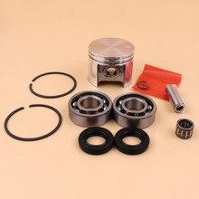42.5mm segments de Piston portant ensemble de joints dhuile ajustement STIHL MS250 MS 250 025 tronçonneuse pièces de rechange nouveau