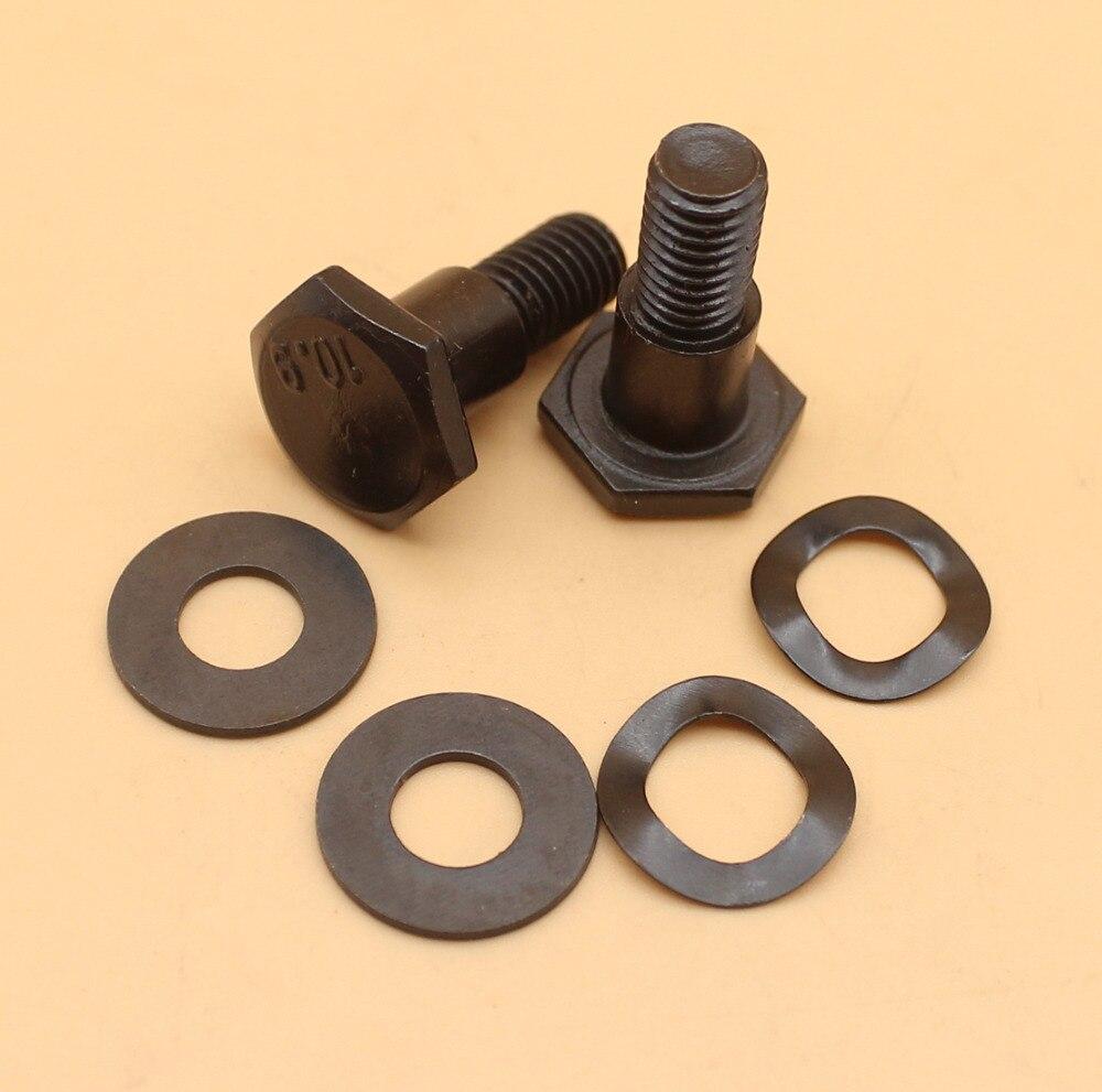 Cluch montagem parafuso mola arruela para honda gx31 gx35 gx35nt gx 31 35 motor hhe31c hht31s cortador de escova aparador fg100 tiller