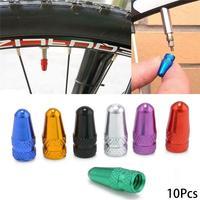 10PCS Bike Presta Cap Durable Bicycle Fixie MTB Presta Wheel Rim Tyre Stem Air Caps Dust Cover Cycling Accessories