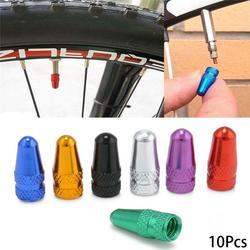 10 шт., колпачок клапана для велосипеда, прочный велосипедный колпачок для колес Fixie MTB Presta, колпачки для пневматических клапанов, пылезащитный чехол, аксессуары для велоспорта