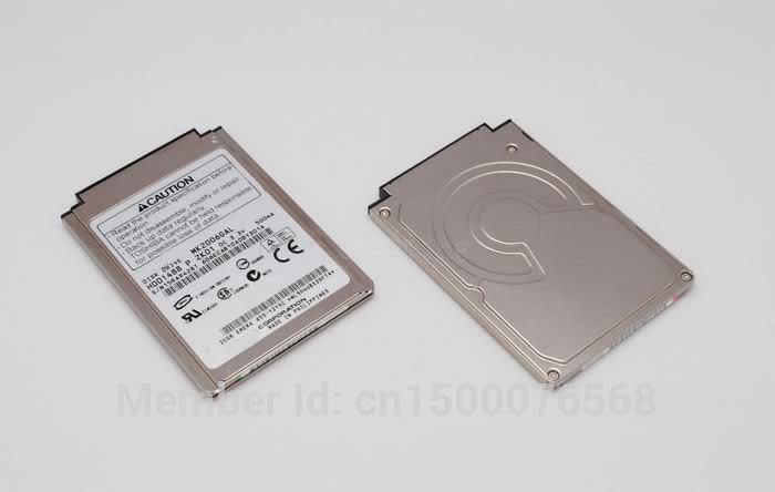 "1.8"" CF/PATA 20GB  MK2006GAL  Hard Disk Drive for IPOD Gen3 Gen4 Laptop R100 R200 ss2000  repalce MK2004GAL MK4007GAL mk3006gal"