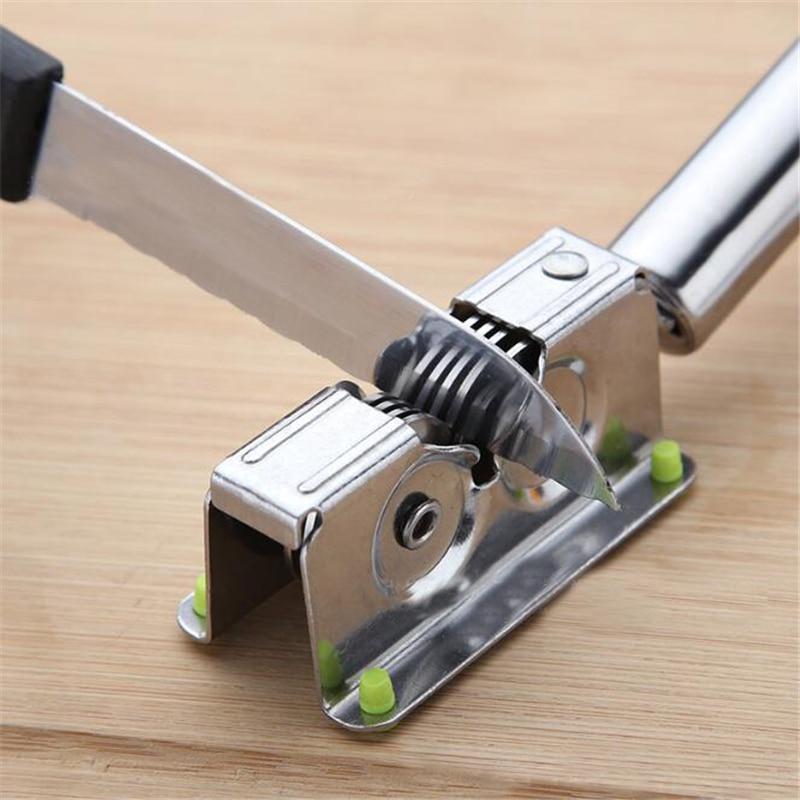 Afilador de cuchillos profesional, afilador de cuchillos de cerámica de carburo de tungsteno de diamante, afilador de cuchillos para el hogar, herramientas de cocina