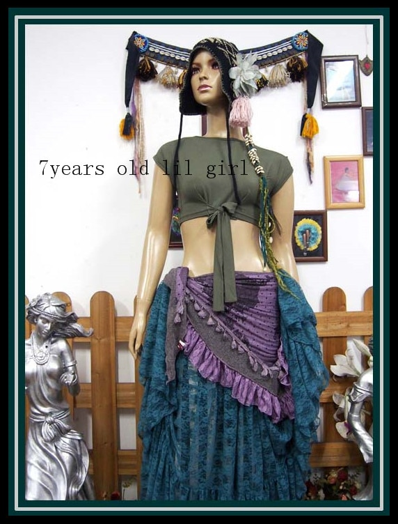 Modal Rayon Cotton Belly Dance Top For Tribal Fusion Gypsy  H70 92