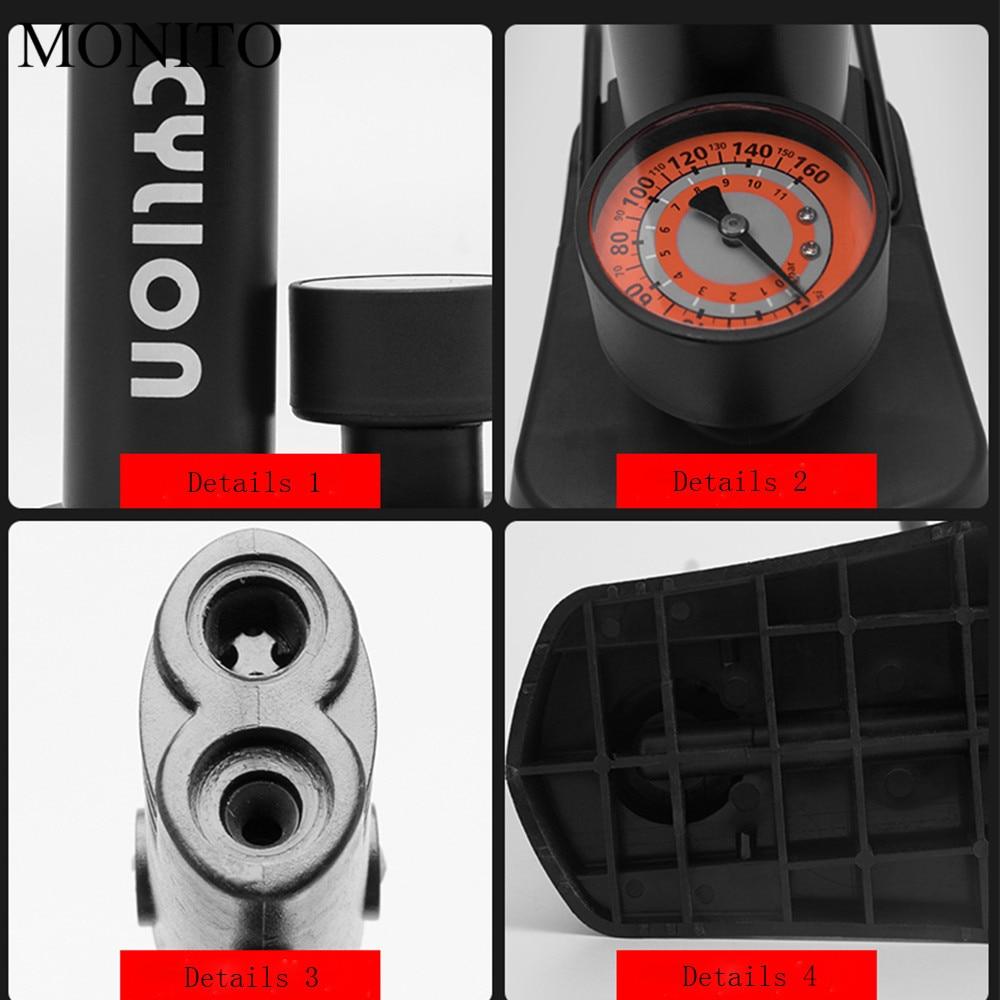 Motorcycles Inflatable Pump Moto Foot Air Portable Mini Tire Inflator For Aprilia RSV MILLE RSV4 TUONO Benelli tnt600 tnt300